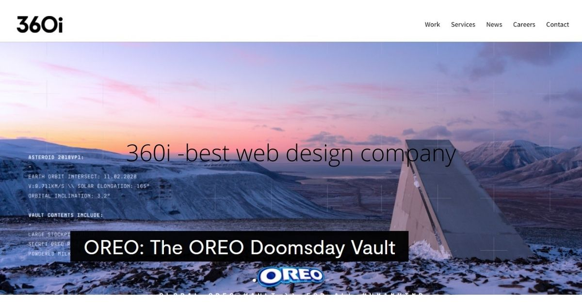 360i -no.2 best web design company