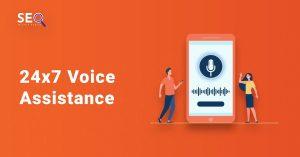 24x7 Voice Assistance